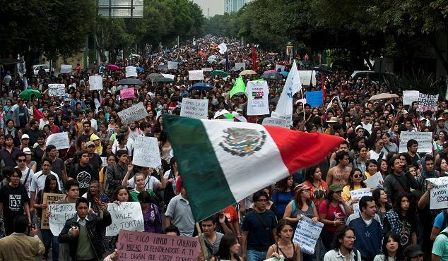 Marcha en México