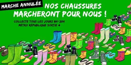 Marche de Paris: prochaine étape