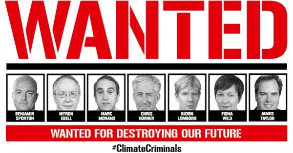 Climate CRIMINALS cover image
