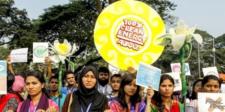 An die Minister: Einigen Sie sich auf 100% saubere Energie