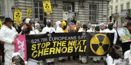 ベルギー:チェルノブイリを繰り返さないで