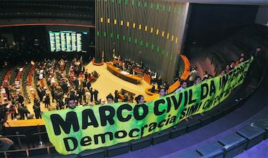 Sociedade civil com deputados