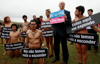 Brazil Open Vote