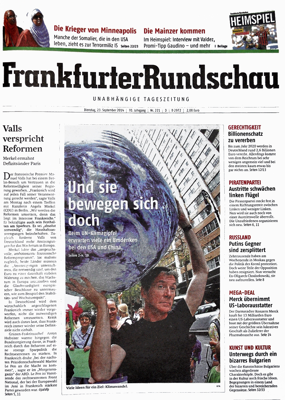 Frankfurter rundschau er sucht sie