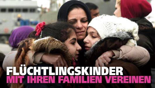 Verschwundene Flüchtlingskinder retten