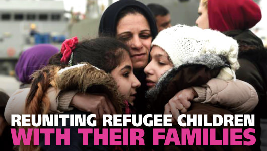 Saving the lost Refugee Children