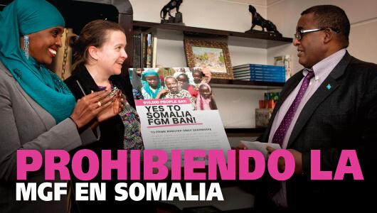 Prohibiendo la mutilación genital femenina en Somalia