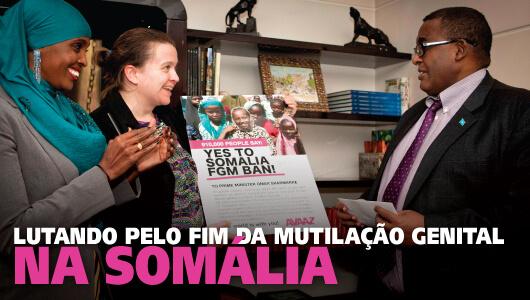 Proíbam a mutilação genital feminina