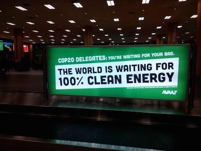 Nuestros anuncios en la COP20