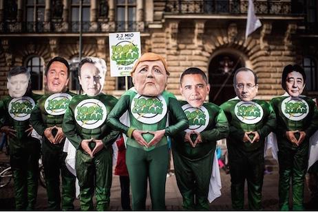 Les héros du climat au G7